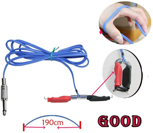YILONG 1pcs/lot Brand New Flexible Silicone Clipcord For Delight Tattoo Works Power Supply Tattoo & Body Art