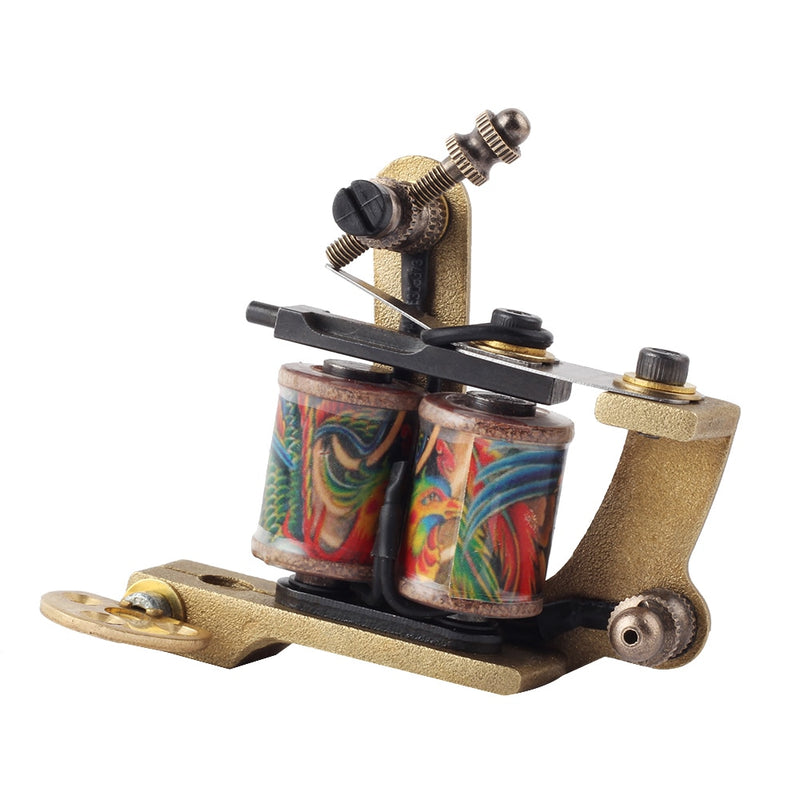 2PCS YILONG High Quality Coil Tattoo Machines  for Tattoo Machine Gun As Liner and Shader with boxes