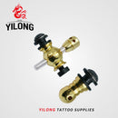 YILONG Brand New Pro 1pcs Tattoo Spring Screw Polishing Front Contact Binding Post For Tattoo Machine Parts Free Shipping