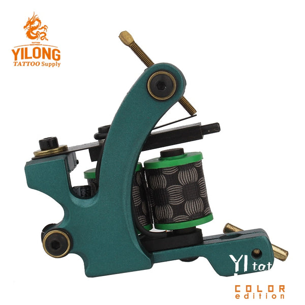 YILONG High Strength Stable Working Speed Black Pig Iron  Coils High Rotating Speed Tattoo Machine Shader Guns Body Art