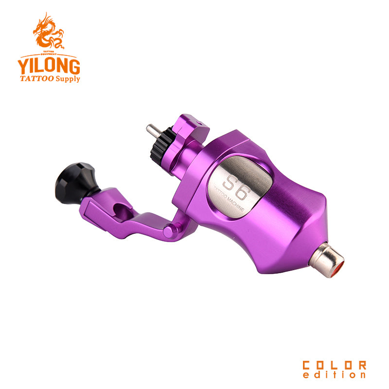 YILONG New Rotary Tattoo  Machine, Improted coreless Motor Tattoo Machine, with Magnet charging interface Free Shipping