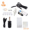 YILONG Starter Tattoo Kit 8 Wrap Coils Tattoo Gun Machines Grips Needles Tips Power Supply Beginner Tatu Tattoo Supplies