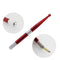 YILONG Pen Manual tattoo pen for permanent makeup pen eyebrow tattoo with 2 pieces  blade needle microblading pen