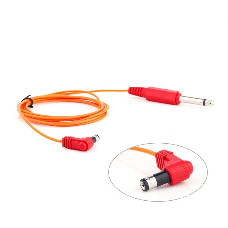 YILONG Top Quality New Copper DC/Magnet Tattoo Clip Cord Soft Silicone Supply Red Optional