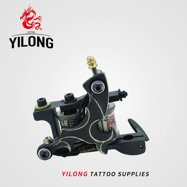 YILONG Top Quality Shading Tattoo Machine Artist Iron Frame Tattoo Guns Suppies