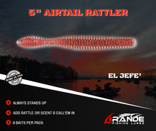 "Load image into Gallery viewer, 5"" AIRTAIL RATTLER - EL JEFE'"