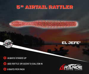 "5"" AIRTAIL RATTLER - EL JEFE'"
