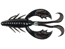 "Load image into Gallery viewer, 4"" MEGA CLAWS - BLACK BLUE FLK"