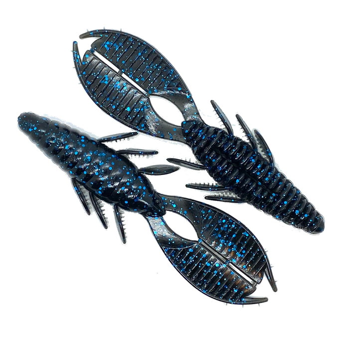 4.25 BEAVER BUG - BLACK BLUE FLK