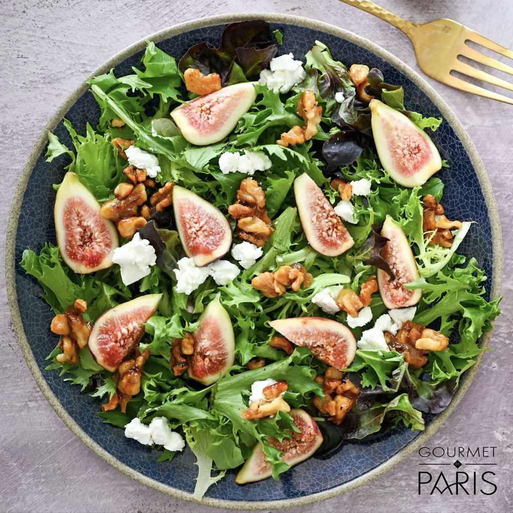 Fig and Grand Coeur Goat Cheese Salad
