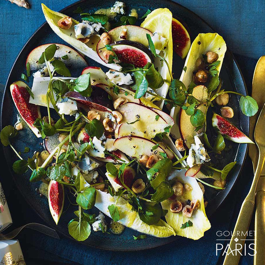Fig and Papillon Roquefort Salad