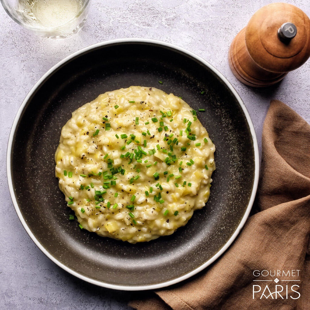 Leek and Brie Risotto