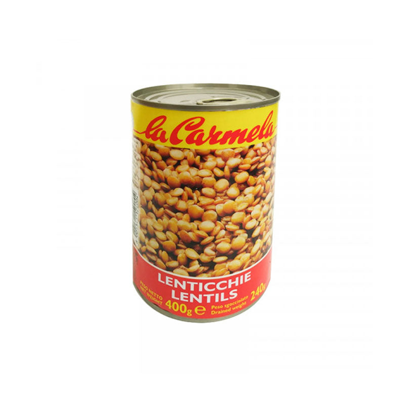 Lentils in tin - 400g - gourmet-de-paris-london