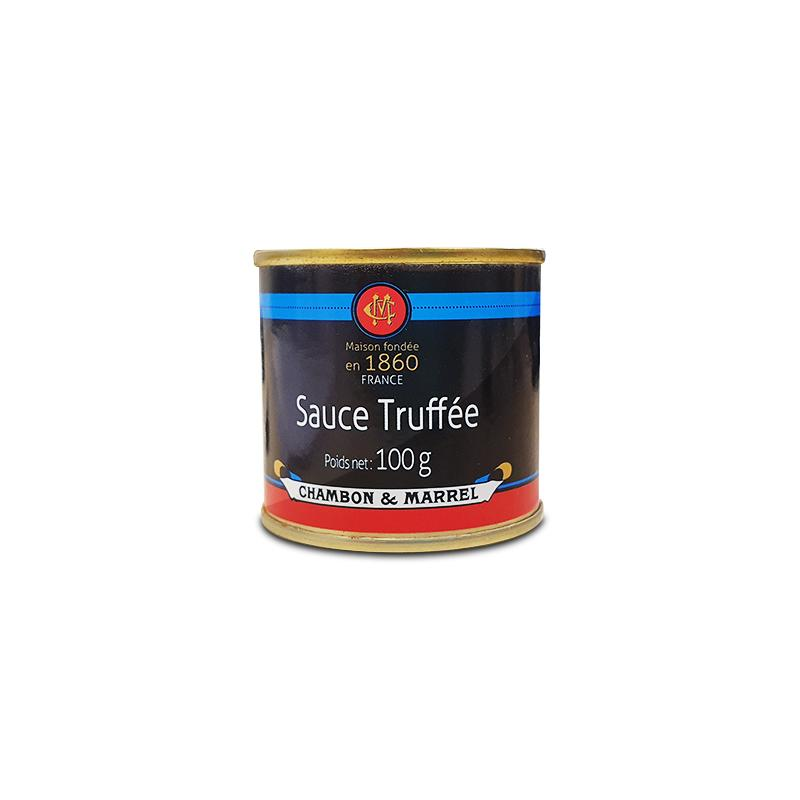 Chambon & Marrel Truffle sauce 3% 100g - gourmet-de-paris-london