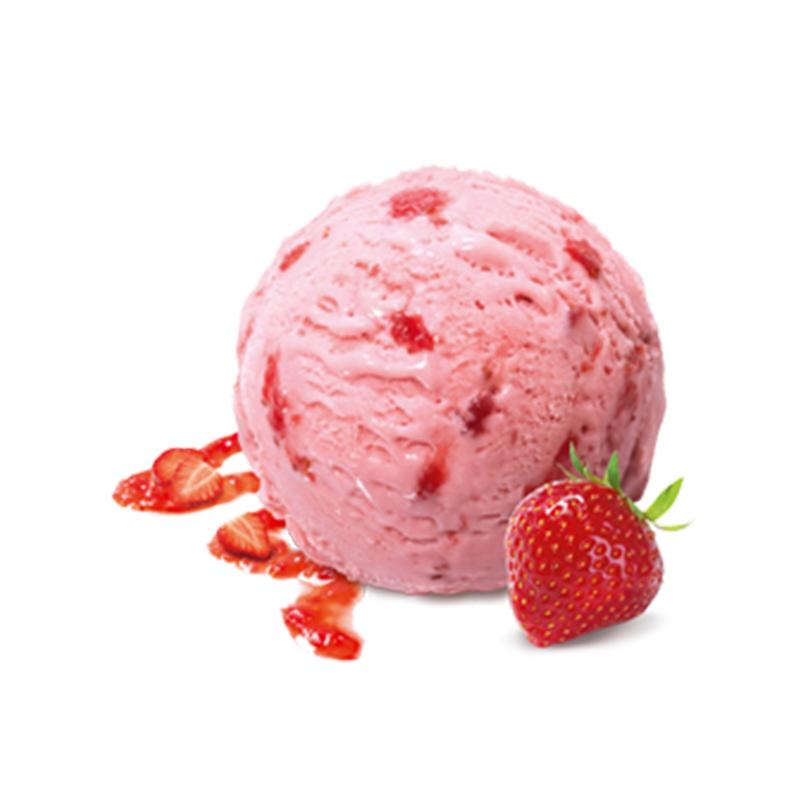 Mövenpick strawberry Ice Cream - 5ltr - gourmet-de-paris-london