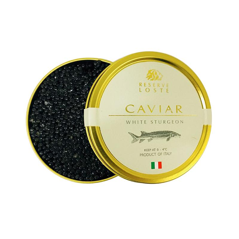 White sturgeon Caviar - 50g - gourmet-de-paris-london