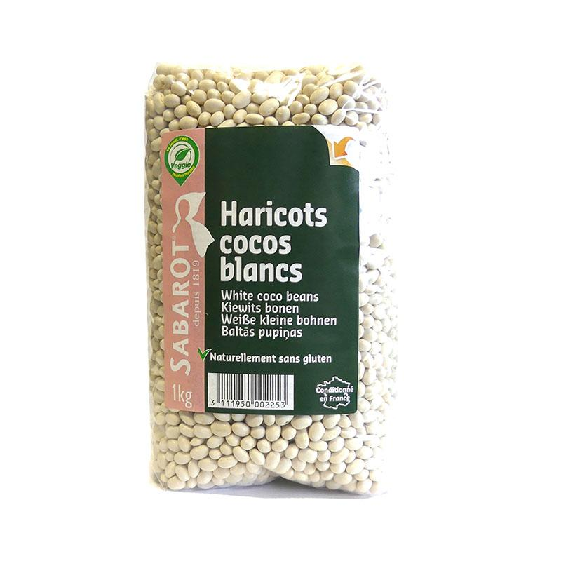 White Coco Beans - 1kg - gourmet-de-paris-london
