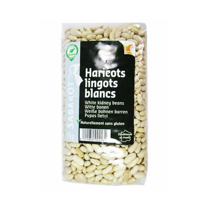 White Kidney Lingot Beans - 1000g - gourmet-de-paris-london