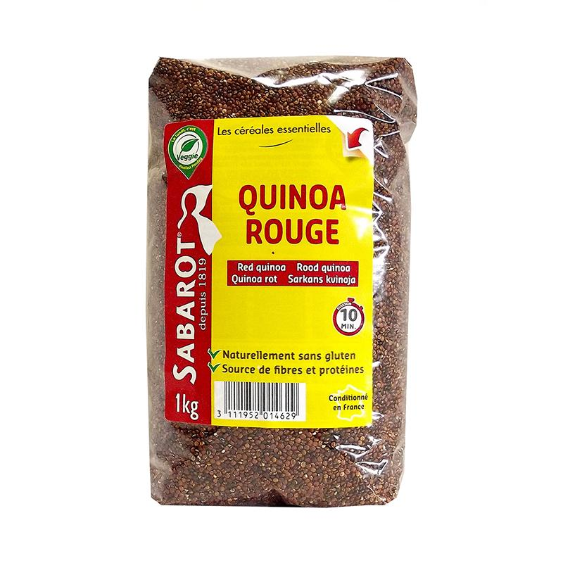 Red Quinoa - 1kg - gourmet-de-paris-london