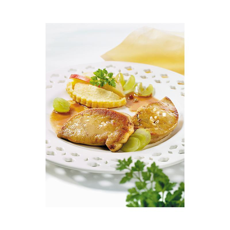 Jean Larnaudie Frozen Duck Foie Gras Escalope - 1kg - gourmet-de-paris-london