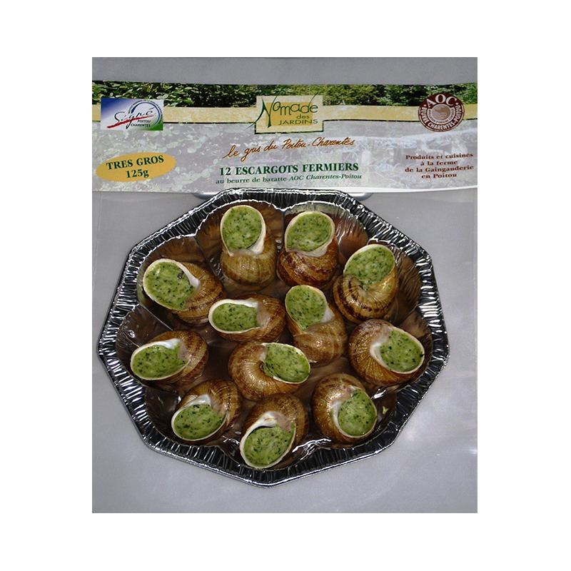 Frozen Escargot Platter - Oven Ready - 125g - gourmet-de-paris-london
