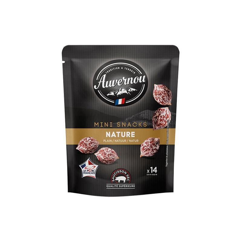 Mini Saucisson Snacks Plain - 75g - gourmet-de-paris-london