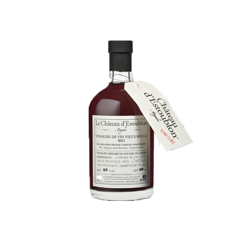 Chateau d'Estoublon Organic red wine vinegar 50cl - gourmet-de-paris-london