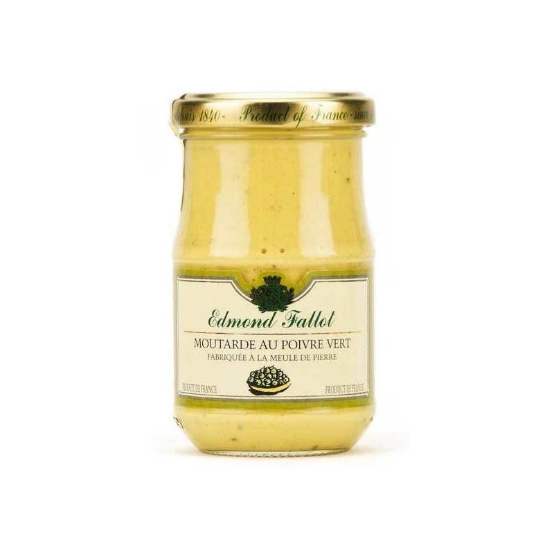 Green Pepper Dijon Mustard - 210g - gourmet-de-paris-london