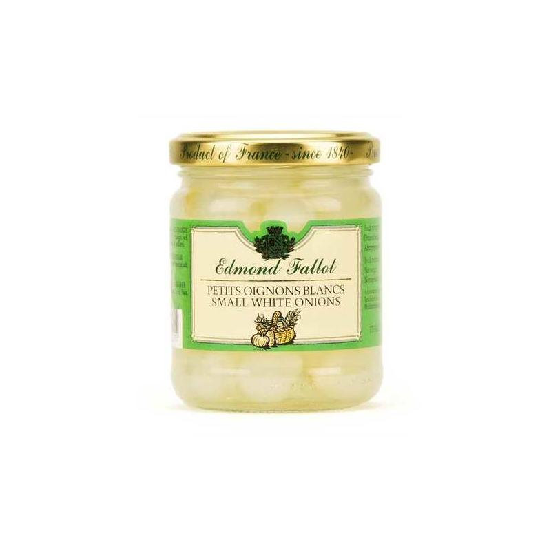 Edmond Fallot Small white onions - 21cl - gourmet-de-paris-london
