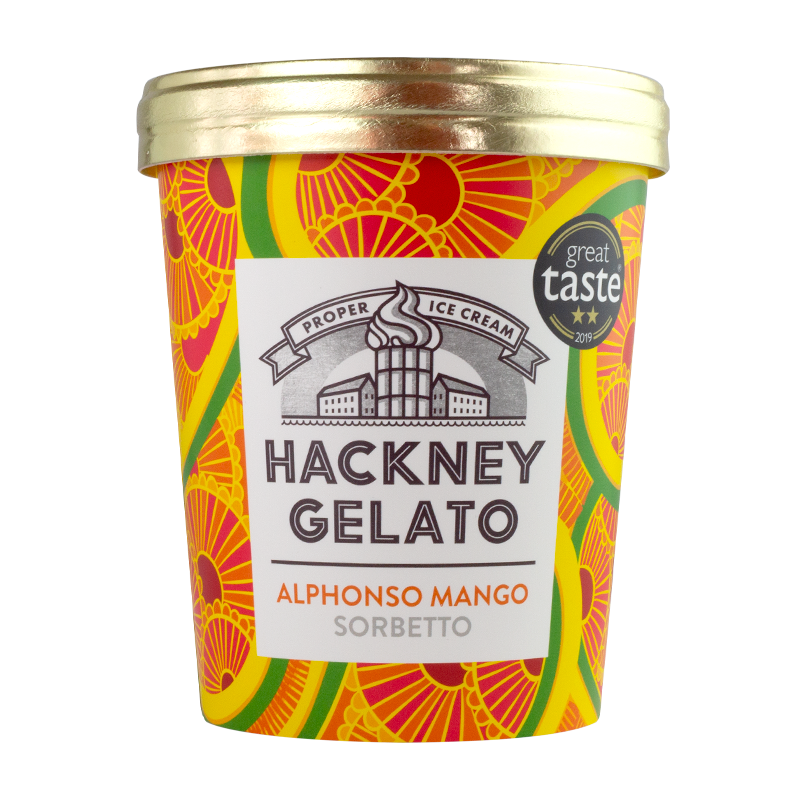 Alphonso mango sorbetto - 500ml - gourmet-de-paris-london
