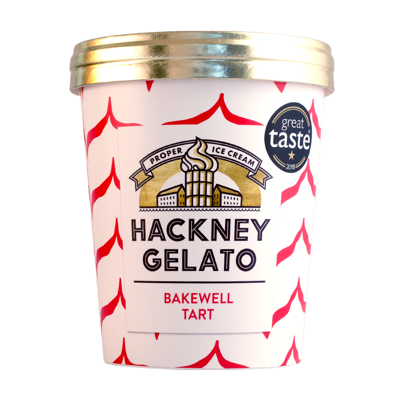 Bakewell tart gelato - 500ml - gourmet-de-paris-london