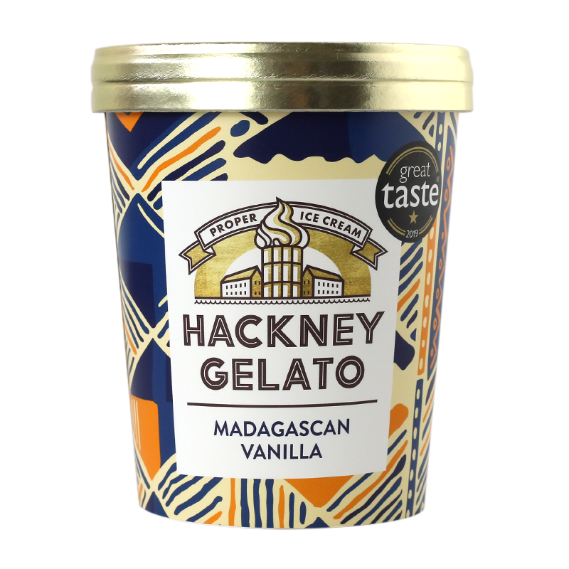 Madagascan vanilla Gelato - 500ml - gourmet-de-paris-london