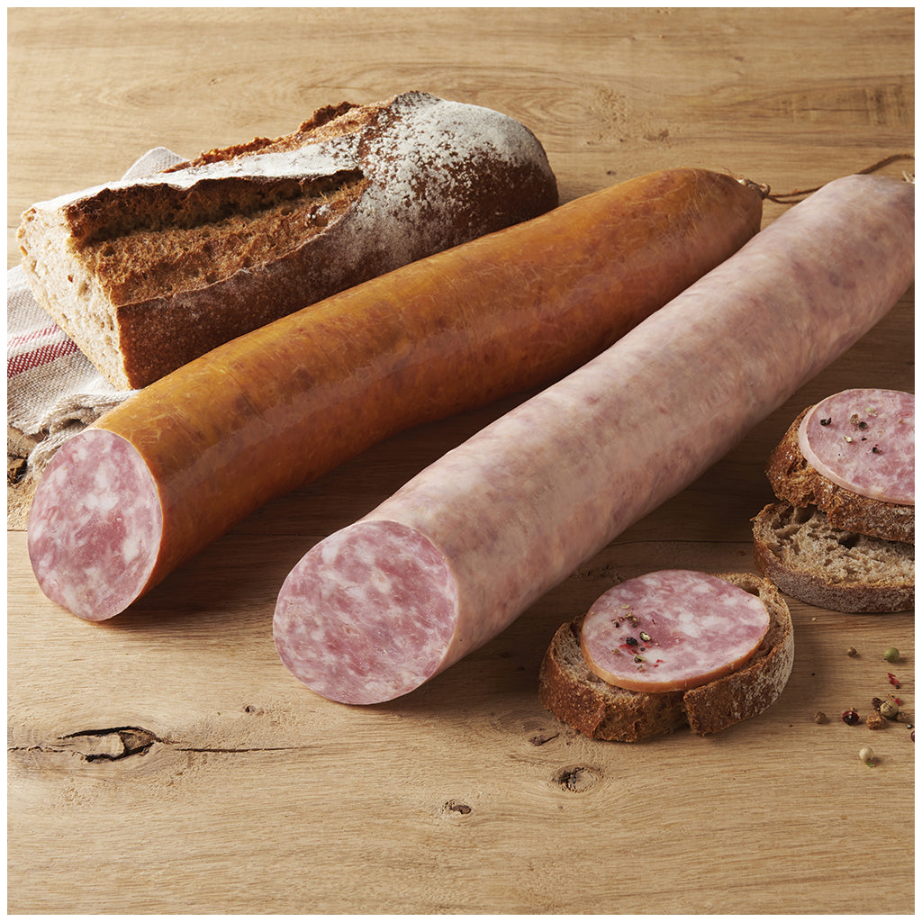 Loste Smoked garlic sausage - 1kg - gourmet-de-paris-london