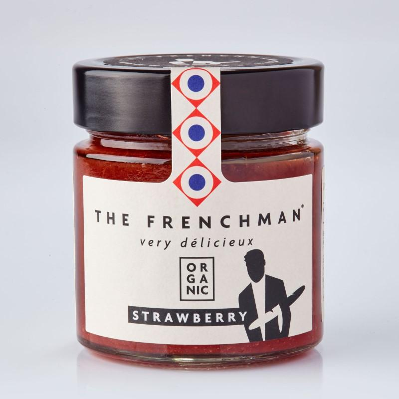 Organic Strawberry Fruit Spread 260g - gourmet-de-paris-london