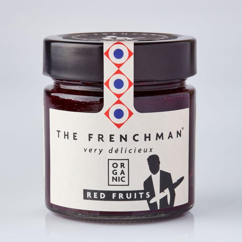 Organic Red Berry Fruit Spread 260g - gourmet-de-paris-london