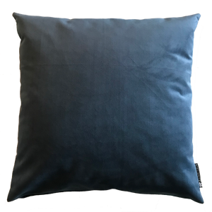 Pillow in Blue Velour