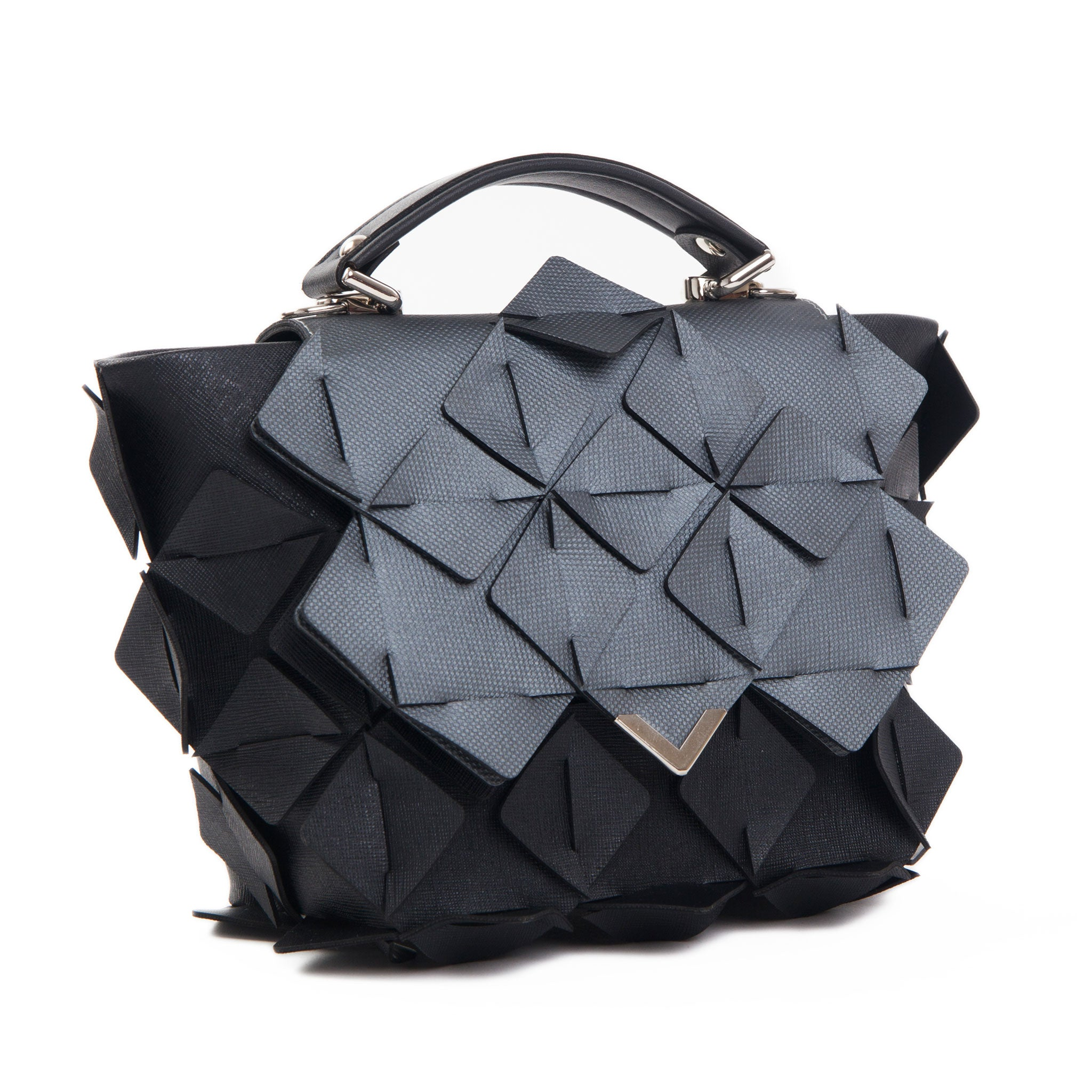 DIAMOND BAG Crystal black&grey