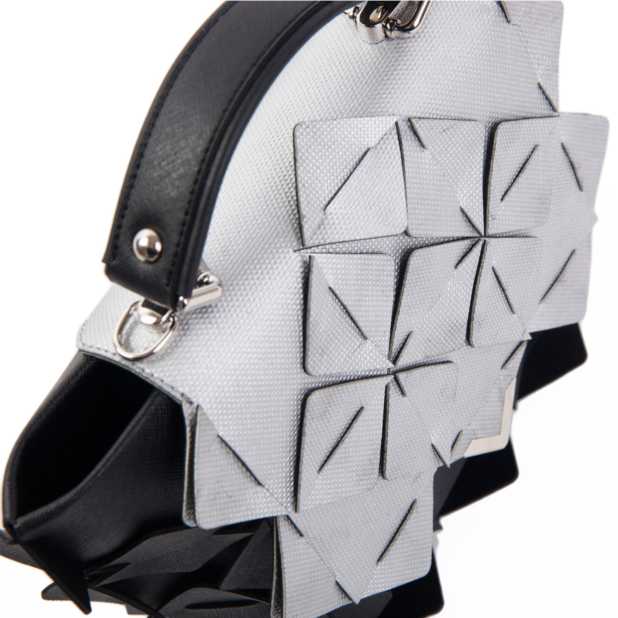 DIAMOND BAG Crystal black&silver
