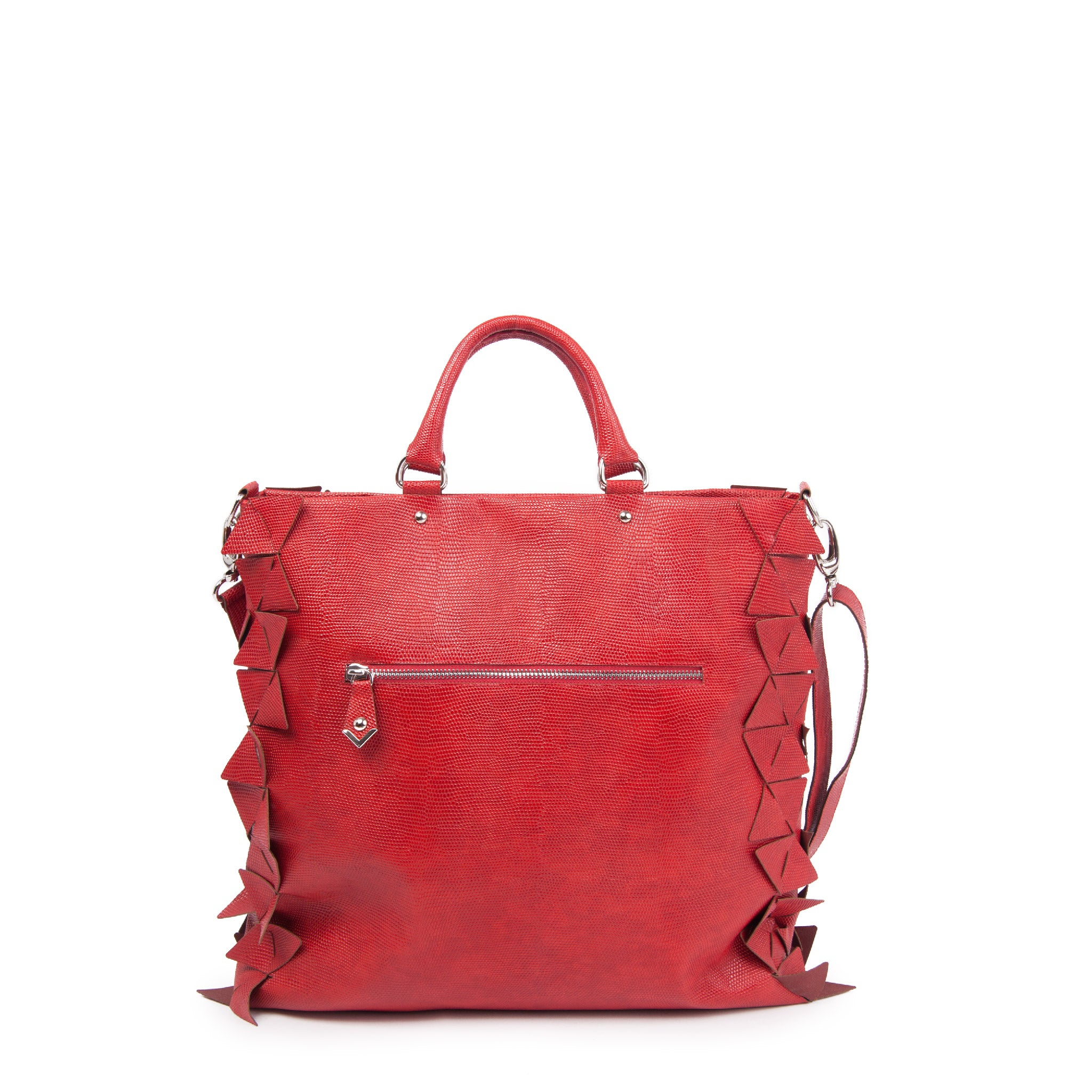 STAR TOTE BAG Carol Red