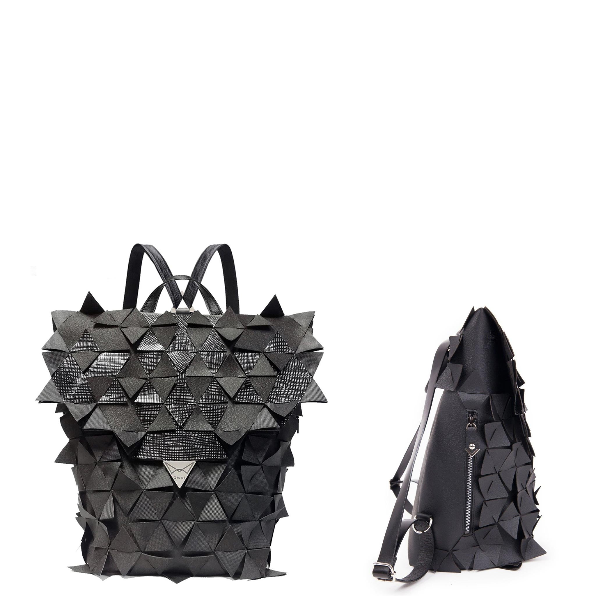 STAR BACKPACK Pocket Venice black