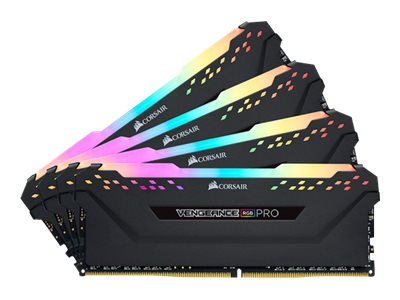 RAM CORSAIR Vengeance RGB Pro 32GB DDR4 kit 3200MHz CL16 Ikke-ECC