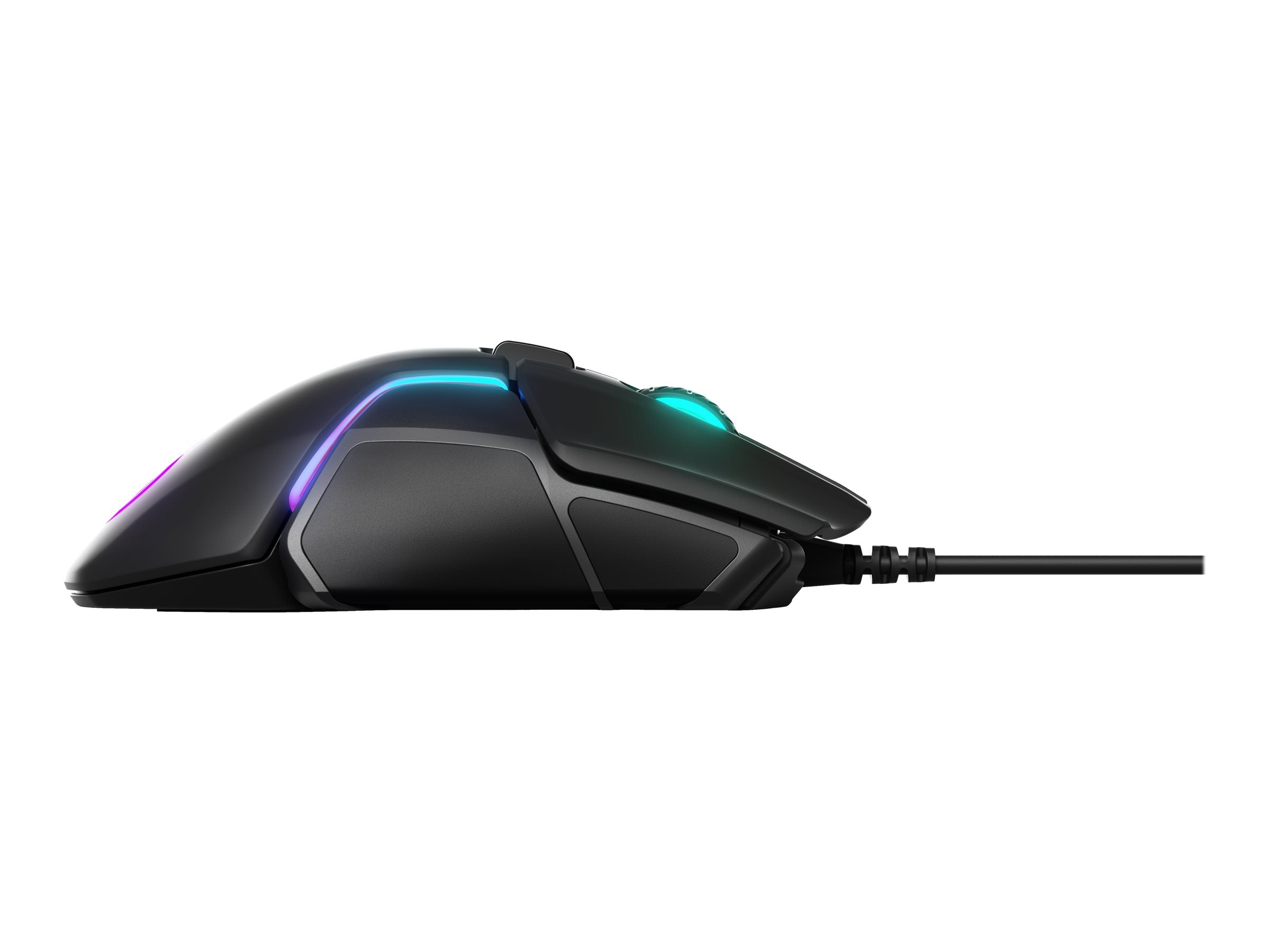 Gamer Mus SteelSeries Rival 600 Optisk Kabling Sort