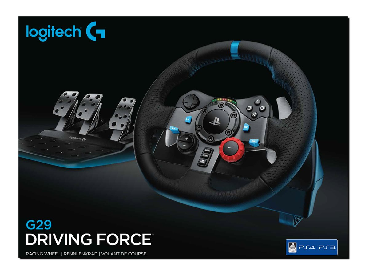 Logitech G29 Driving Force Rat Og Pedal Sæt