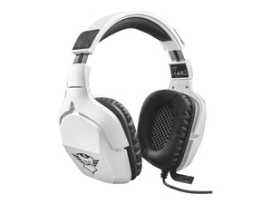 Gamer Headset Trust GXT 354 Creon 7.1 Bass Vibration Headset Kabling Hvid