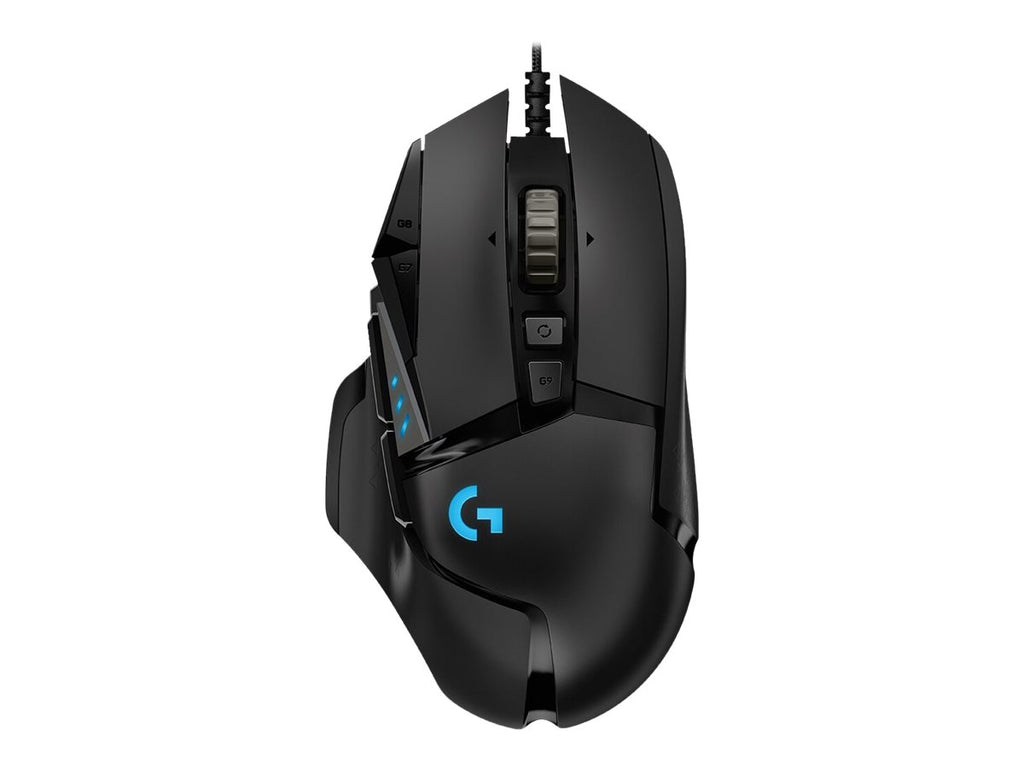 Gamer Mus Logitech G502 (Hero) Kabel Sort