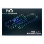 Nordic Accessories NOR-UH07-3 7-in-1 USB-C Dock