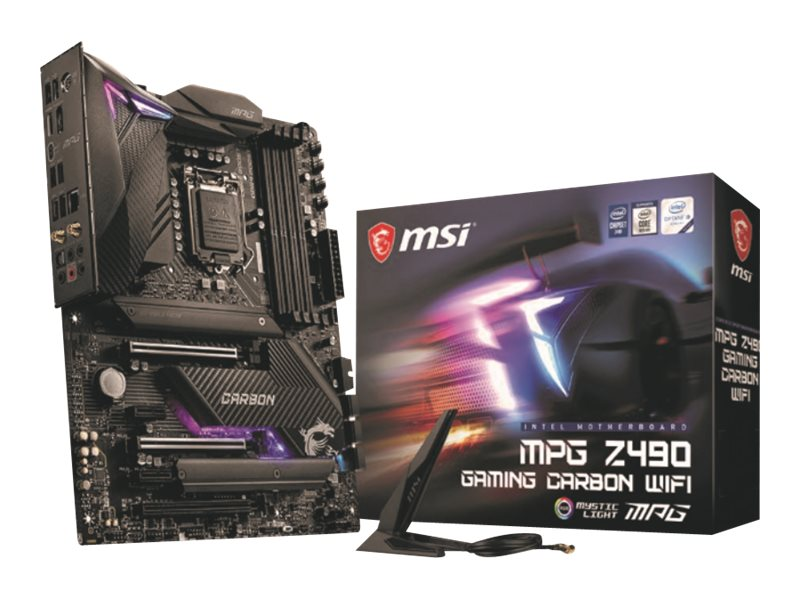 Bundkort MSI MPG Z490 GAMING CARBON WIFI ATX LGA1200