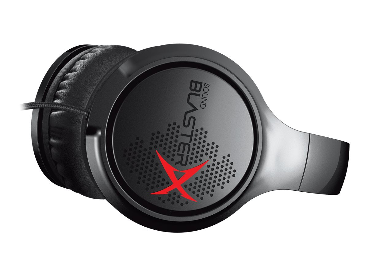 Gamer Skærm Creative Sound BlasterX H3 Kabling Sort