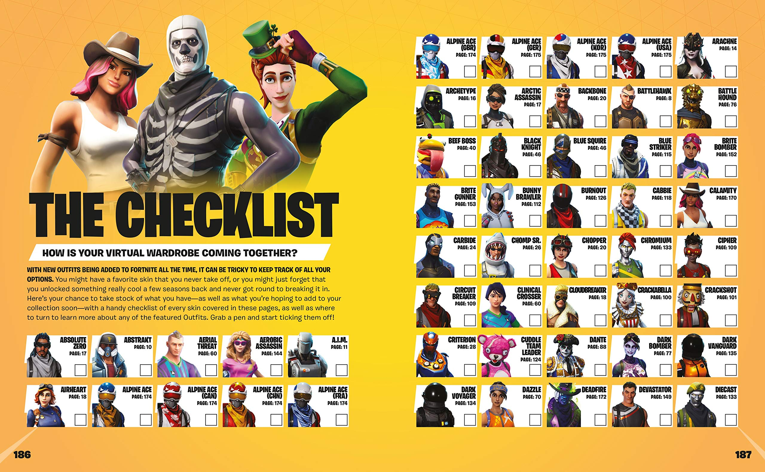 Fortnite Outfits Collectors Edition