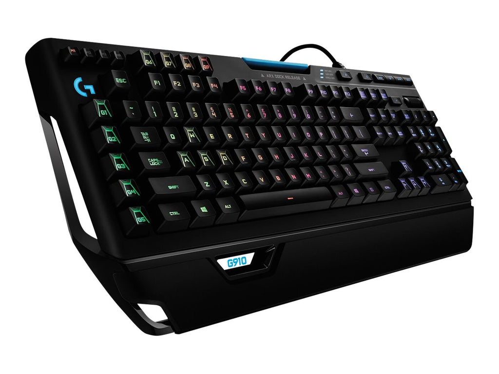 Gamer Tastatur Logitech Orion Spectrum RGB Mechanical G910 - Lootbox.dk